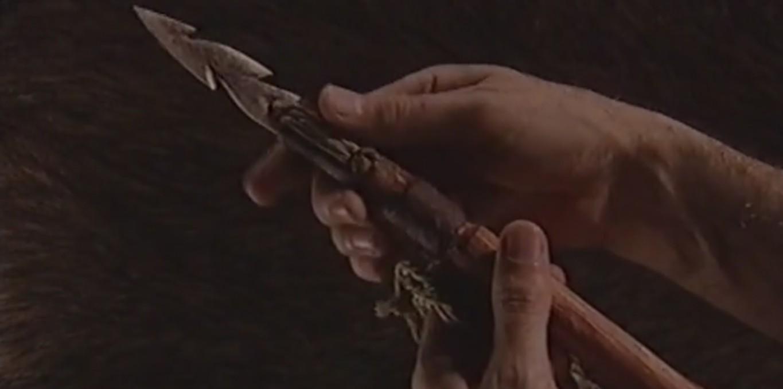 Couverture du film Objets archéologiques - Le harpon