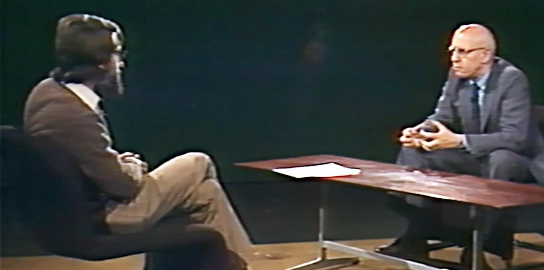 Couverture du film Entretien avec Michel Foucault par André Berten