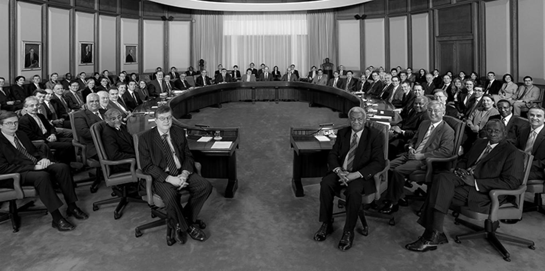 Couverture du film L'encerclement, la démocratie dans les rets du néolibéralisme